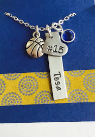 personalized basketball necklace basketball necklace personalized basketball necklace