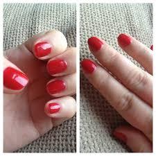 my gel nails a gelish manicure mammaful zo beauty fashion