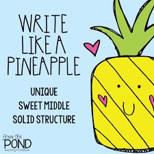 Ananas Pineapple Meme - write like a pineapple from the pond