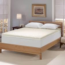memory foam mattress topper height reviews serta 4inch memory