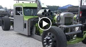 peterbilt cummins 300 big cam custom peterbilt rat rod semi truck u2013 speed