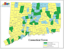 Map Of Ct Towns Ct Dept Of Housing On Twitter