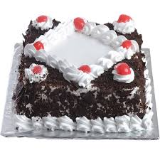 cake photos delicious black forest cake in square to gift same day