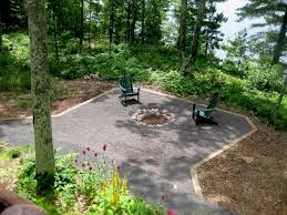 Firepit Area Best Firepit With Pea Gravel Rick Gruel Landscaping Pea Gravel