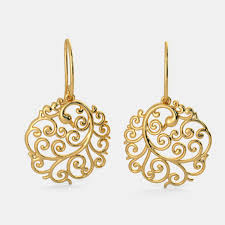 gold earrings online buy 150 22k gold earring designs online in india 2018 bluestone