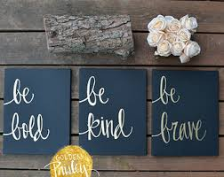 Quotes Wall Decor Quote Wall Art Etsy