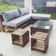 Pallet Patio Furniture Cushions Pallet Outdoor Furniture Photogrid Info