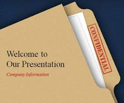 free confidential powerpoint template