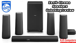 true sound home theater phillips zenit bluetooth 5 1 cinema speakers soundbar unboxing