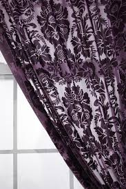 Plum Velvet Curtains Best 25 Purple Curtains Ideas On Pinterest Purple Shelving