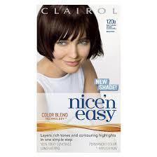 clairol nice easy hair color 120b natural dark caramel brown