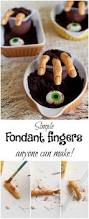 homemade halloween cake how to make fondant fingers super simple fondant and finger
