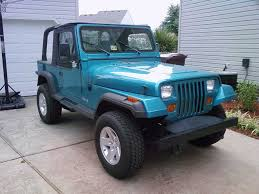 teal jeep streetneon27 1994 jeep yj specs photos modification info at