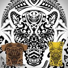 score maori leopard tattoo tee by rockingroom on threadless