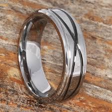 mens metal rings images Krypton mens carved symbol infinity rings forever metals jpg