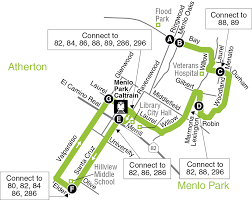 Route 80 Map by Hillview Middle