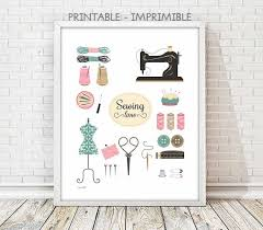 Sewing Room Decor Awesome Sewing Room Wall Decor About My Blog