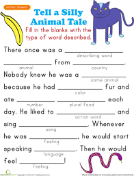 fill in a funny story 4 funny stories worksheets and funny