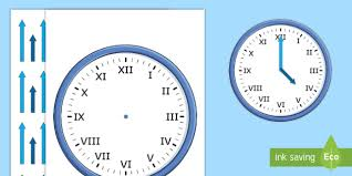 roman numerals blank clock with hands roman numerals blank
