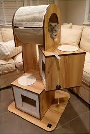 Modern Design Cat Furniture by Cool Cat Tree Furniture Designs Your Cat Will Love