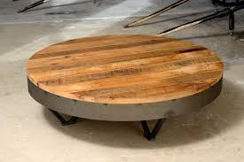 Rustic Round Coffee Table 30 Photos Large Round Low Coffee Tables