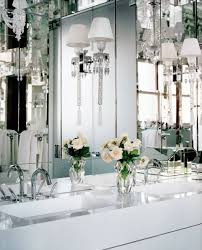 outstanding decoration bathroom light ideas and crystal wall