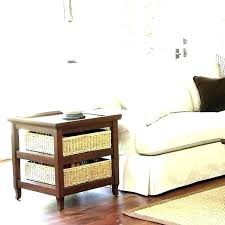 Changing Table Storage Baskets Coffee Table With Baskets Underneath Square Coffee Table With