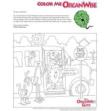keeping kids focused coloring page