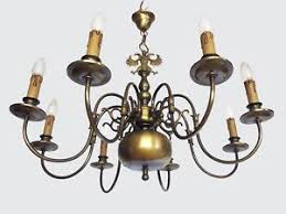 Flemish Chandelier Large Flemish Chandelier Renaissance Brass With 8 Arms And