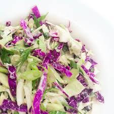 cabbage slaw with honey yogurt lime vinaigrette the lemon bowl