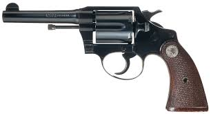 1940s police guns colt official police 38 special 1940