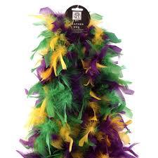 mardi gras feather boas chandelle boas multi colors mardigras 7 5