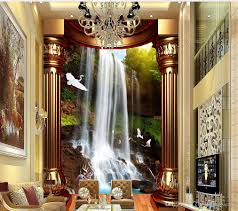 waterfall wall mural wallpaper online waterfall wall mural beautiful creative high definition waterfalls water 3d mystery mural 3d wallpaper 3d wall papers for tv backdrop