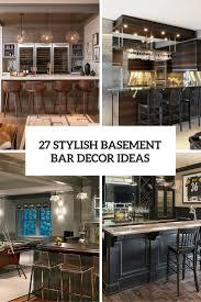 basement bar decor basements ideas