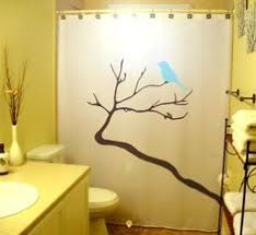 Shower Curtains With Trees Bird Shower Curtain Bathroom Decor Black Birds Tree Branch