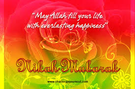 wedding wishes islamic my sweet islam nikah mubarak warm wishes marriage