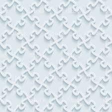jigsaw puzzle 3d seamless wallpaper pattern stock vector art