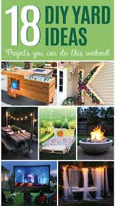Diy Ideas For Backyard 18 Diy Yard Ideas Backyard Projects You Can Do This Weekend