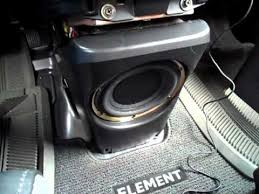 2003 honda element stock stereo system look review youtube