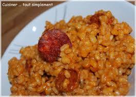 l de cuisiner poêlée d ebly au chorizo tomate et safran cuisiner tout