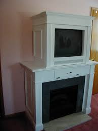 Custom Electric Fireplace by Cabinets