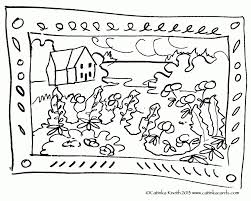 camping scene coloring pages hiking camping coloring pages free