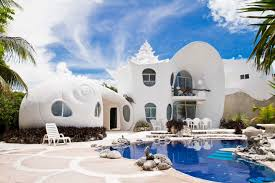 take a dreamy vacation in a seashell house on isla mexico