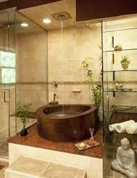 Zen Bathroom Design Waterfall Shower Designs Bathroom Extraordinary Beige Colored