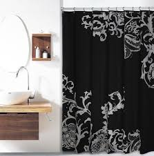 High End Fabric Shower Curtains 65 Best Bathroom Images On Pinterest Gold Shower Curtain Shower
