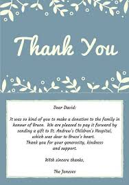 thank you for mass card sle best 25 funeral thank you notes