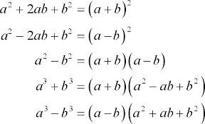 algebra factoring polynomials
