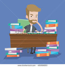Picture Of Student Sitting At Desk Sad Student Stock Images Royalty Free Images U0026 Vectors Shutterstock