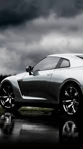 r for android nissan gt r silver left android wallpaper free