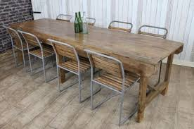 large trestle dining table large 1920s pine trestle dining table antiques atlas